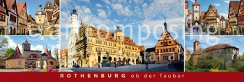 75-302 Rothenburg ob der Tauber - Highlights (Magnet)