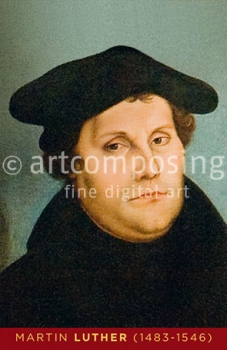 76-001 Martin Luther (Magnet)