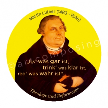 76-495 Luther Zitat (Magnet)