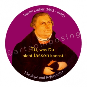 76-496 Luther Zitat (Magnet)