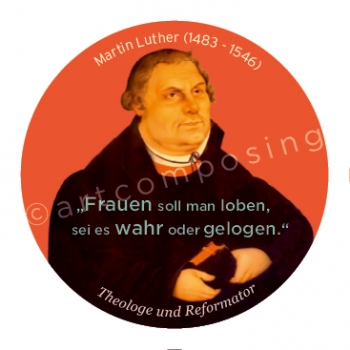 76-497 Luther Zitat (Magnet)