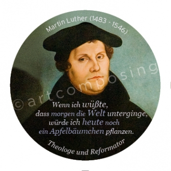 76-498 Luther Zitat (Magnet)