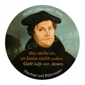 76-499 Luther Zitat (Magnet)
