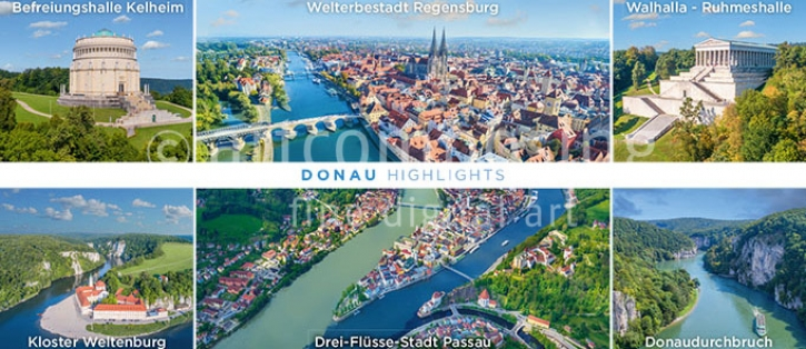 76-687 Donau - Highlights Multi 6 (Magnet)